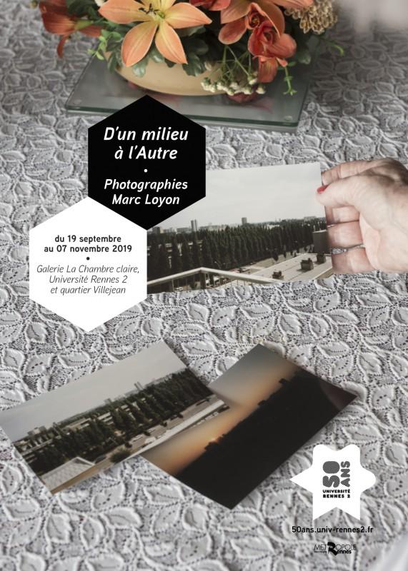 affiche résidence Université de Rennes2