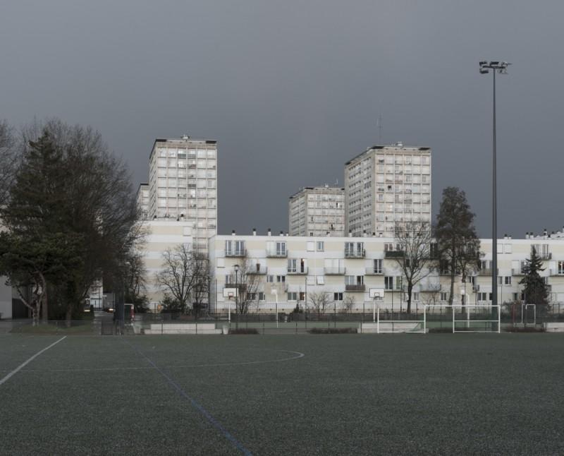 Résidence Université Rennes 2/ Photographie Marc Loyon